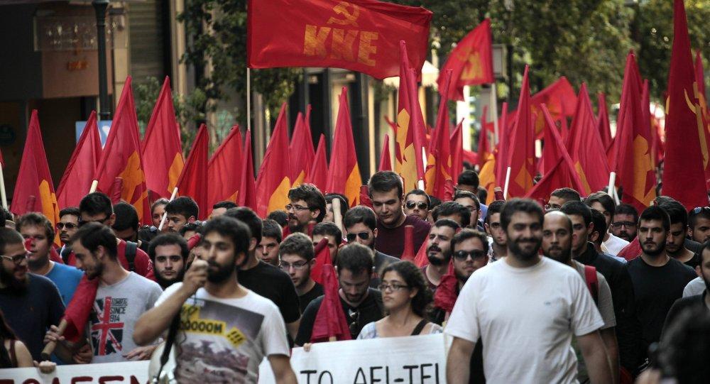 Photo of آلاف المحتجين على زيارة أوباما لليونان في جولته الأوربية الأخيرة