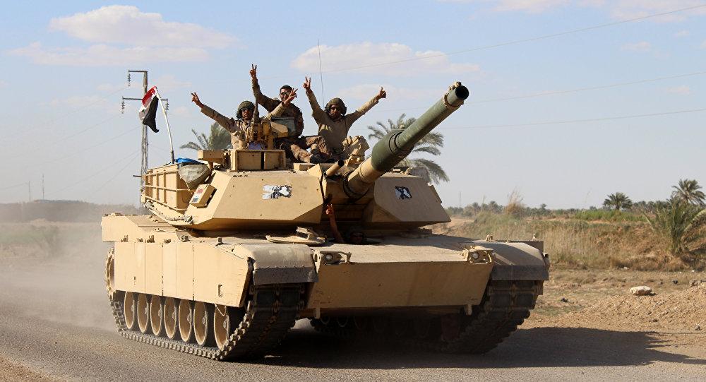 Photo of الجيش العراقي يرفع العلم في آخر بلدة تفصله عن الموصل