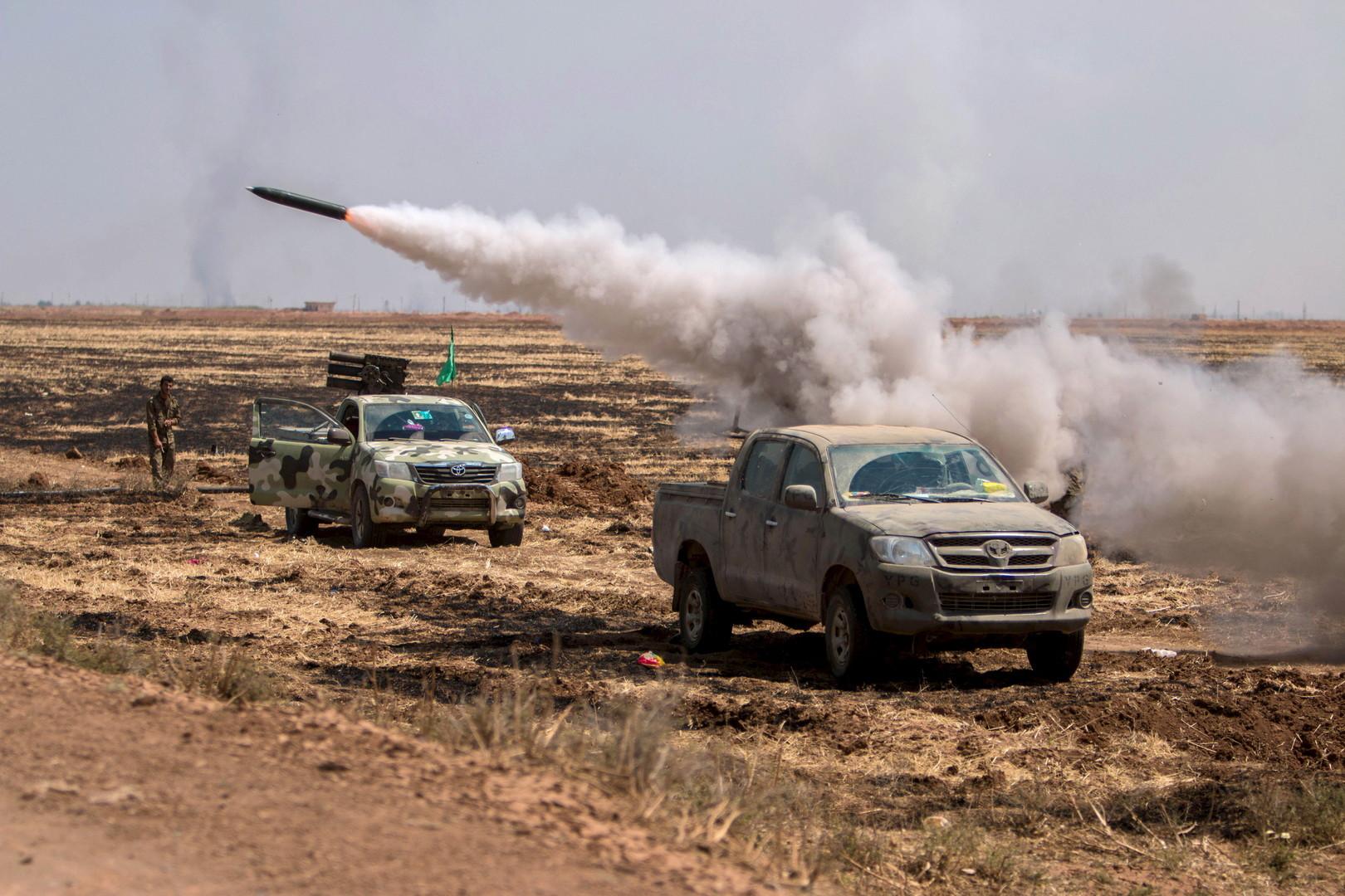 Photo of قوات مدعومة من تركيا تقترب من مدينة الباب السورية