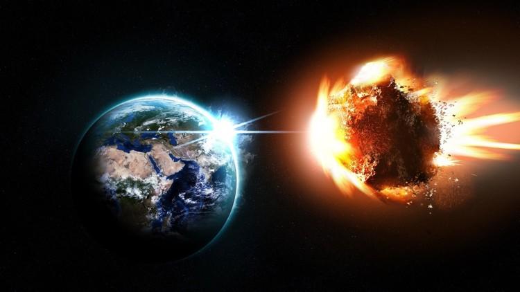 Photo of حياتنا قد تنتهي جراء اصطدام القمر بكويكب