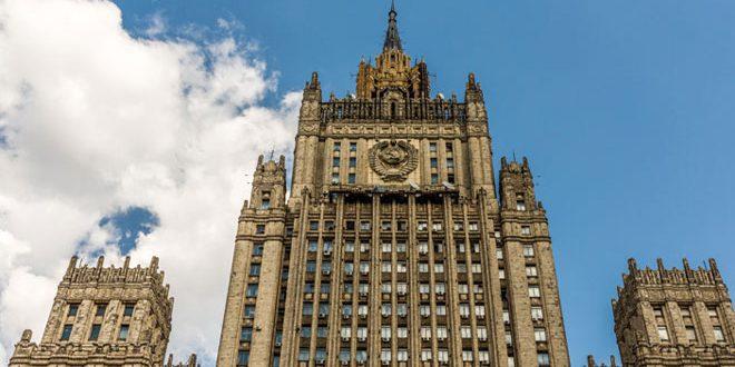 Photo of الخارجية الروسية: واشنطن تعاقب موسكو على دعمها للحكومة السورية في مكافحة الإرهاب