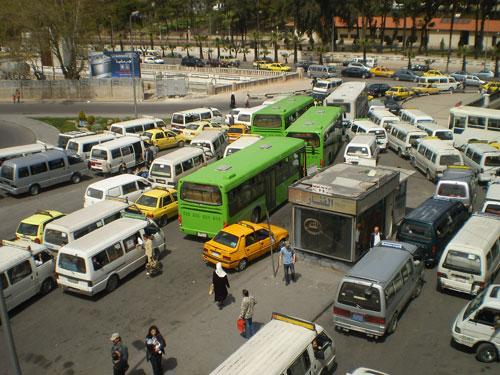 صورة مرور دمشق: في حال عدم توفر وسائط نقل اتصلوا على هذه الأرقام