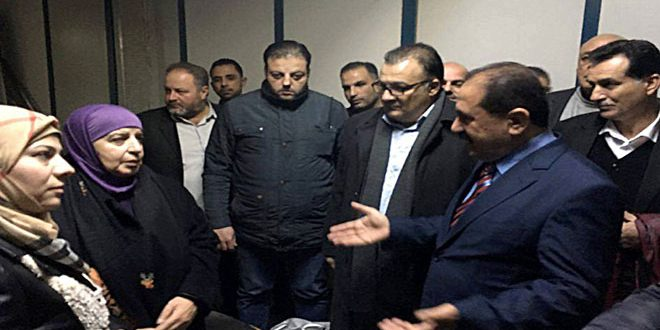 Photo of وزير النقل: تحقيق أعلى درجات الأمن والسلامة في مطار دمشق الدولي