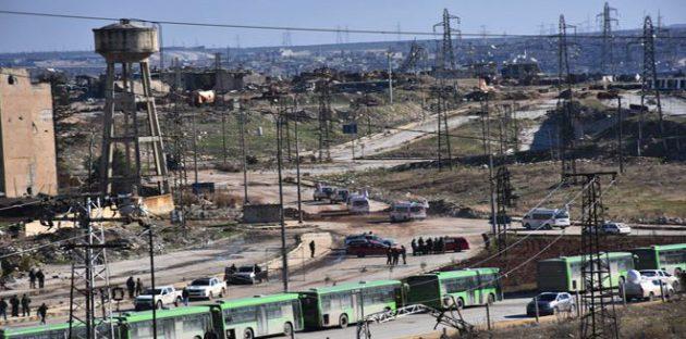 """Photo of """"النصرة"""" تعيق الاتفاق بعد خروج مقاتليها .. و""""حظر الأسلحة الكيماوية"""" تتسلم أدلة من دمشق"""