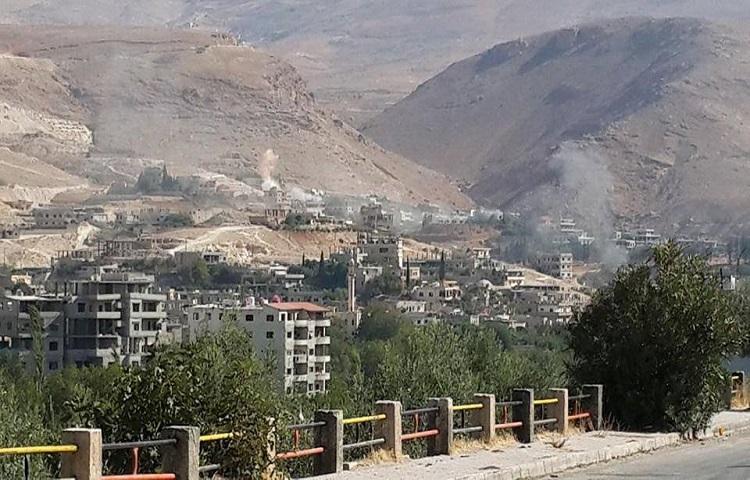 """Photo of الجيش يبدأ معركة تحرير """"وادي بردى"""" ويتقدم في بسيمة"""
