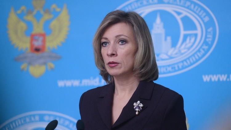 صورة زاخاروفا: السفير كارلوف ساهم بشكل كبير في تسوية الأزمة السورية