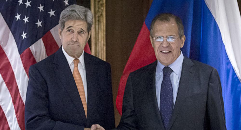 Photo of بدء المحادثات بين لافروف وكيري لبحث تسوية الأزمة السورية