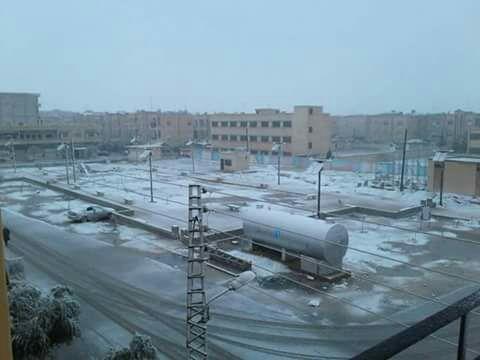 صورة الامطار و الثلوج ستنعكس إيجابياً على الزراعة