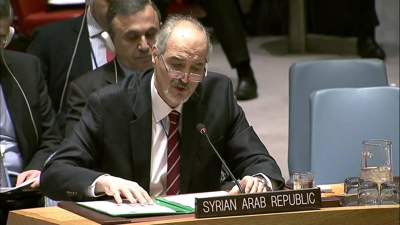 صورة الجعفري: من يدعي حرصه على الشعب السوري عليه أن يطرق باب الحكومة السورية