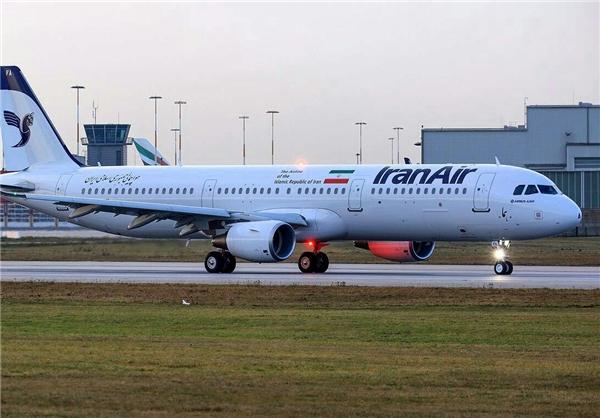 Photo of بعد 38 عاما من الحظر.. أول طائرة ايرباص جديدة للخطوط الإيرانية تحط في طهران