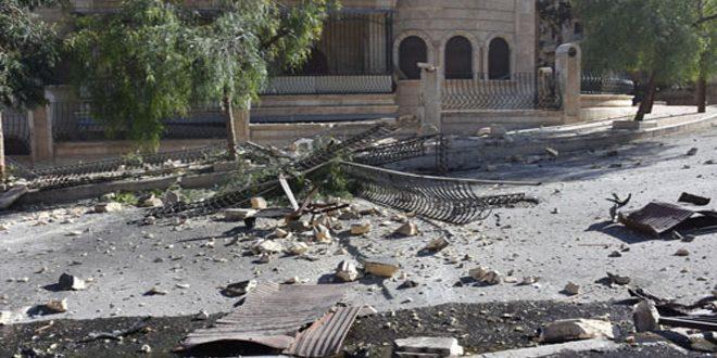 Photo of إصابة 7 مواطنين بقذائف صاروخية أطلقها الإرهابيون على حمص وحلب
