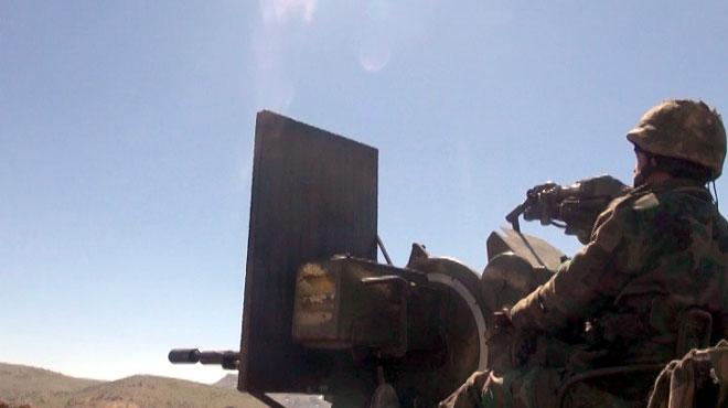 """Photo of الجيش يقضي على 15 إرهابياً من """"داعش"""" في قرية شريفة ويتقدم في منطقة التيفور والباردة بريف حمص"""