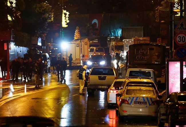 صورة أكثر من 39 قتيلاً في هجوم على ملهى ليلي في أسطنبول