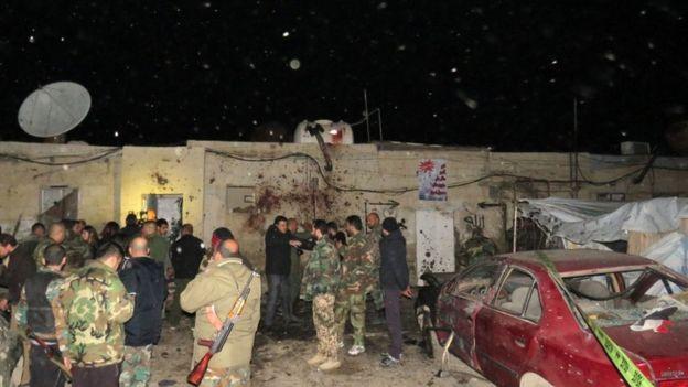 "Photo of ""النصرة"" تتبنى في بيان لها تفجير كفرسوسة الأخير"