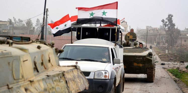 Photo of بدأ عملية باتجاه الباب وأرسل تعزيزات لدير الزور .. الجيش يواصل تقدمه داخل عين الفيجة