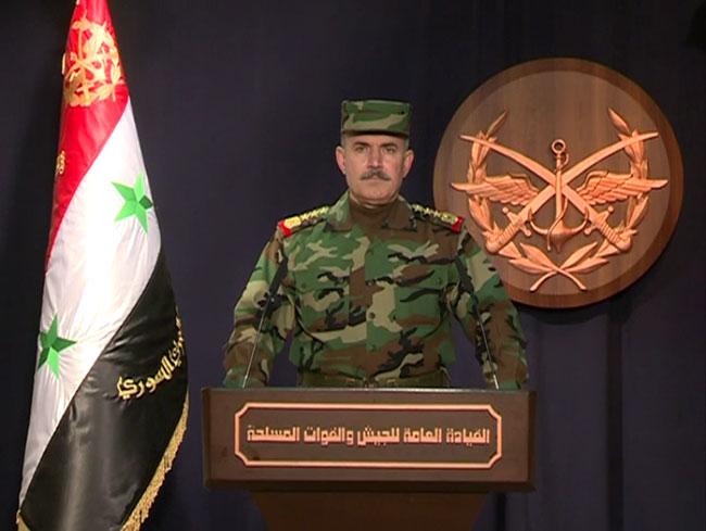 Photo of القيادة العامة للجيش تعلن إنجاز المرحلة الأولى من العملية العسكرية في البادية بالوصول إلى الحدود مع العراق