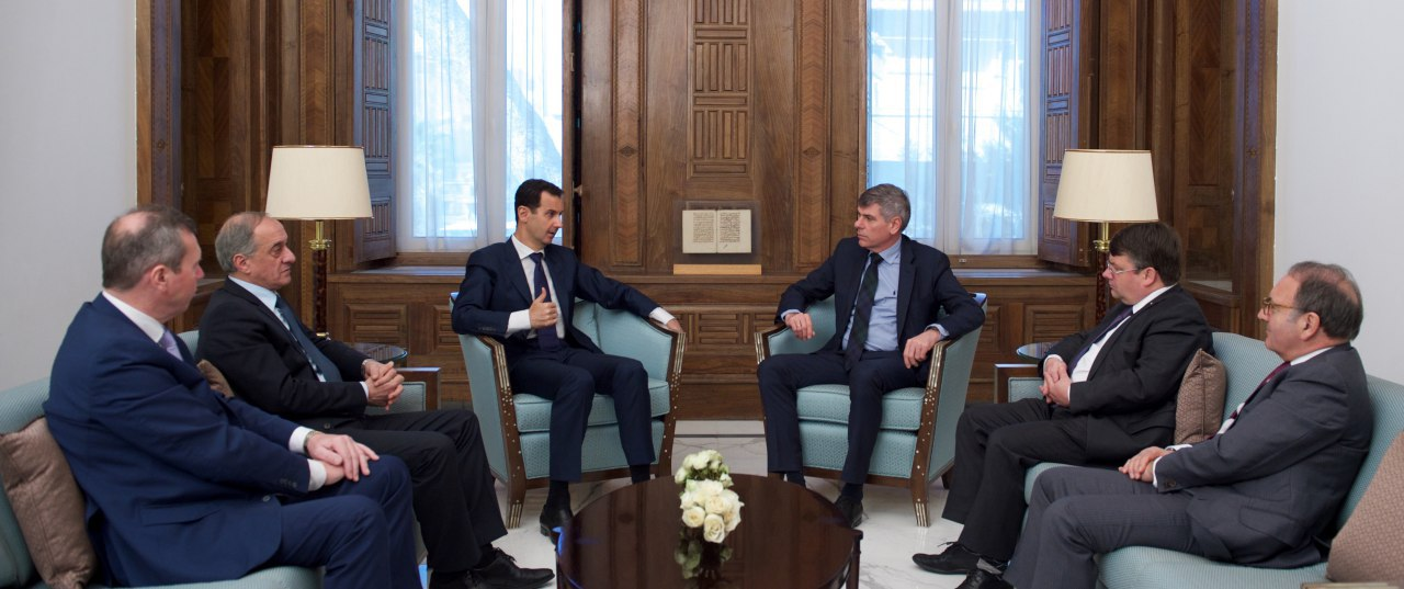 Photo of الرئيس الأسد لوفد برلماني بلجيكي: معظم الدول الأوروبية انتهجت سياسة غير واقعية منذ بداية الحرب في سورية
