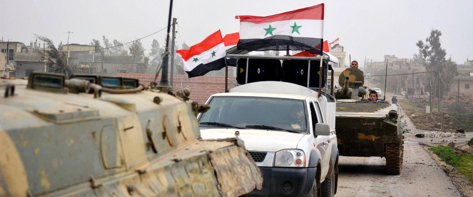 Photo of حميميم: الجيش السوري يسيطر على 8 بلدات بريفي حلب وحمص