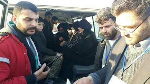 صورة 54 مخطوفا من ريف اللاذقية إلى الحرية بعد 4 سنوات من الأسر
