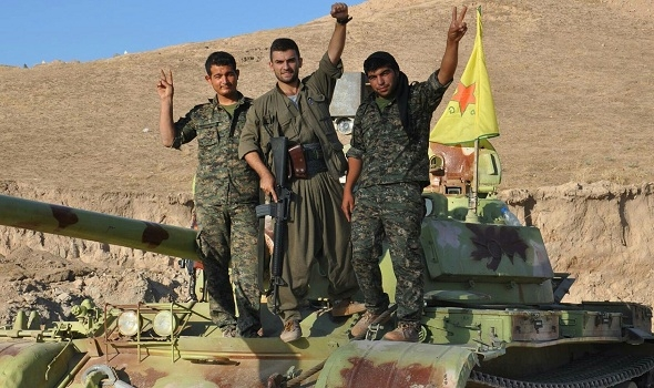 Photo of اشتباكات تركية كردية على أطراف مدينة رأس العين الحدودية