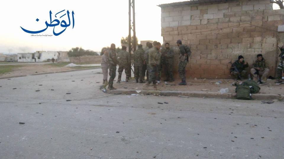 صورة مقاومة قمحانة في ريف حماة مستمرة لليوم الرابع على التوالي