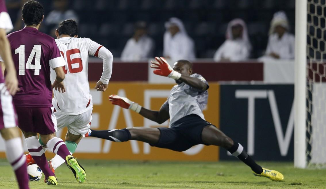 Photo of قطر تسقط أمام إيران بهدف نظيف وتبتعد عن المراكز المؤهلة لمونديال روسيا