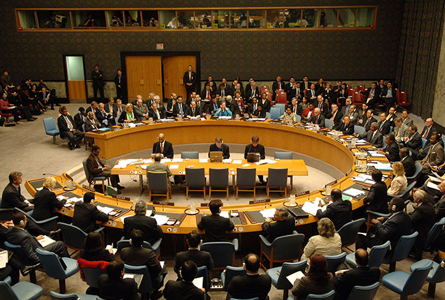 "Photo of مجلس الأمن يتبنى ""هدنة عالمية"" لمواجهة ""كورونا"" تستثني التنظيمات الإرهابية"