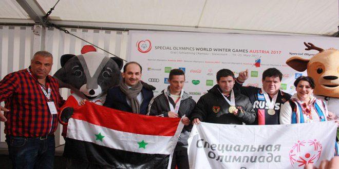 Photo of 8 ميداليات سورية في بطولة الألعاب الأولمبية الشتوية الخاصة في النمسا
