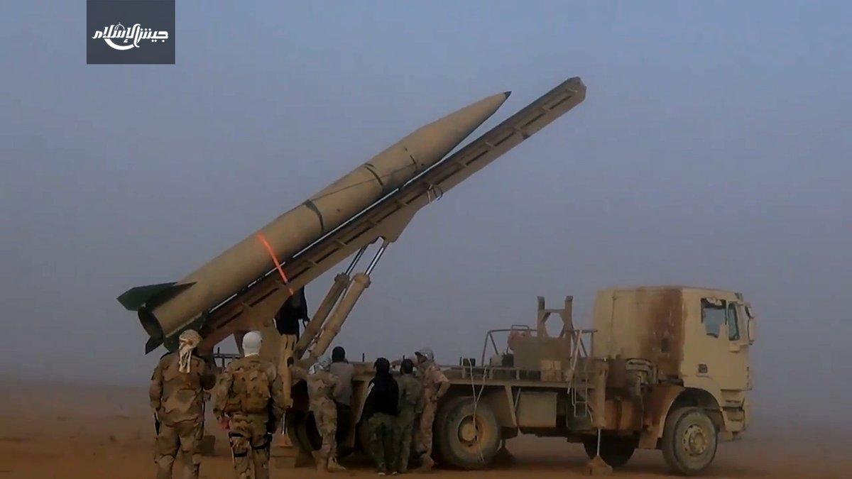 """Photo of ميليشيا """"جيش الإسلام"""" تهدد باستخدام صواريخ باليستية"""