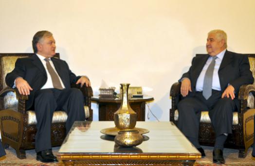 Photo of المعلم ووزير خارجية أرمينيا يؤكدان الرغبة في التعاون بين البلدين بمختلف المجالات