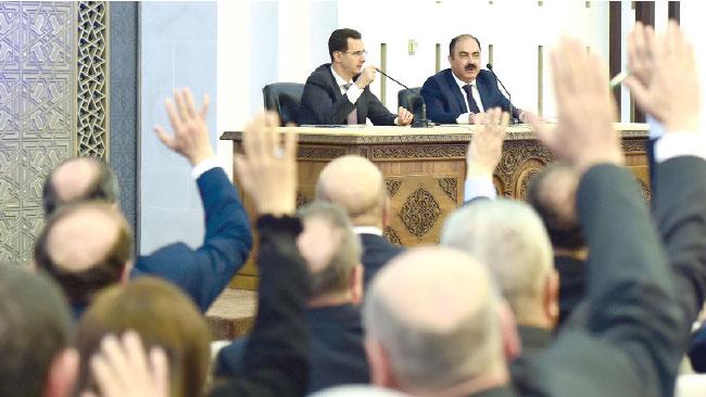 Photo of الرئيس الأسد: حربنا على الإرهاب لن تتوقف ما دام هناك إرهابي واحد يدنس أرضنا