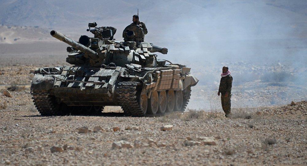 صورة توجه واشنطن وأتباعها جنوبا دفع الجيش السوري للتحرك السريع باتجاه بادية الشام