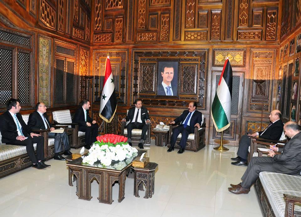 Photo of الهلال يلتقي وفداً تركياً في دمشق: سورية ترحب ببناء علاقات جيدة مع كل دول الجوار