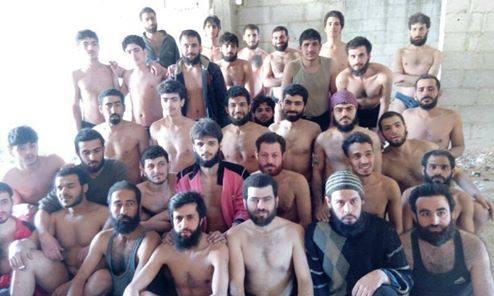 صورة أسماء الأسرى المحررين من سجون الميليشيات الإرهابية في القابون
