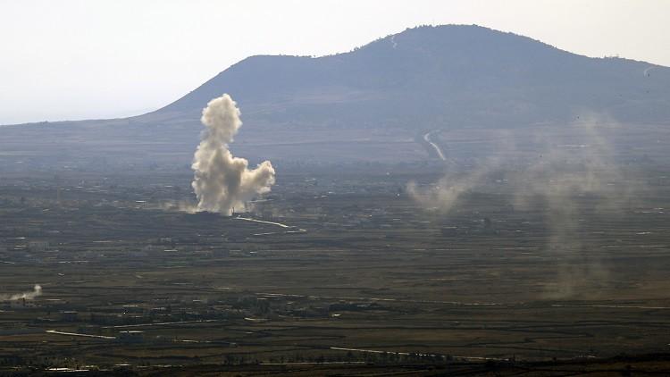 Photo of طيران العدو يدعم الإرهابيين بغارات على مواقع الجيش في القنيطرة