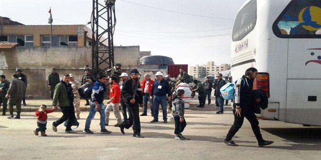 Photo of خروج الدفعة الرابعة من مسلحي حي الوعر بحمص