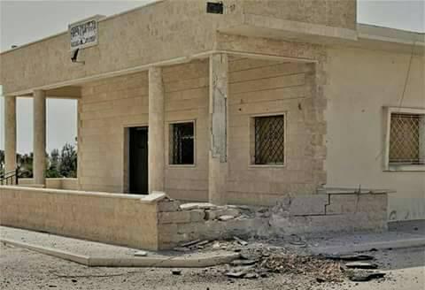 Photo of صواريخ غراد على مدينة محردة تؤدي إلى أضرار مادية