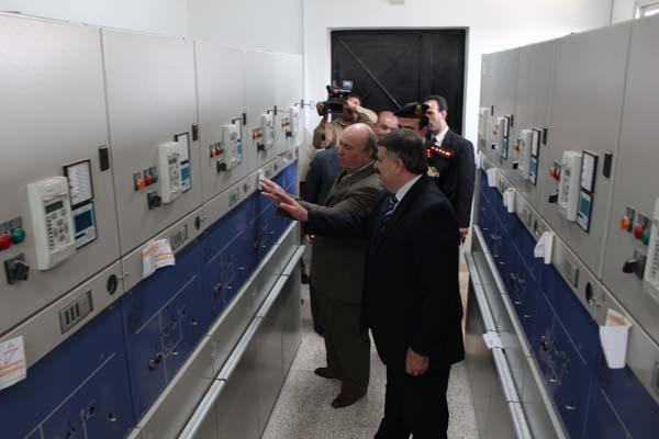 صورة معالجة العدادات الكهربائية وإجراء تسوية والبداية من وادي بردى