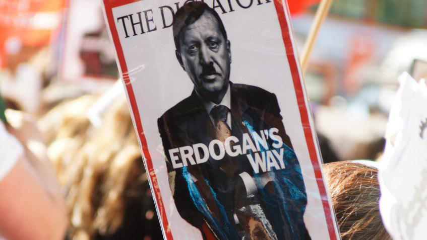 صورة نهاية الديمقراطية التركية