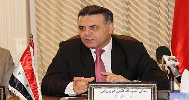 Photo of الوز: علامات الصفين السابع والثامن ستدخل في الشهادة الأساسية في العام القادم