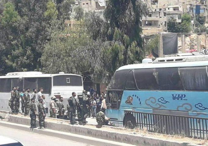 صورة حي برزة خالٍ من المسلحين