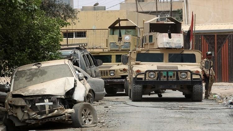 صورة عملية عسكرية للجيش العراقي لتحرير آخر مواقع داعش في الموصل