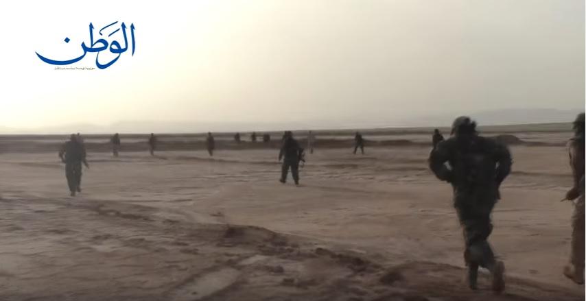 Photo of مشاهد حصرية من العمليات العسكرية للجيش السوري في البادية باتجاه التنف