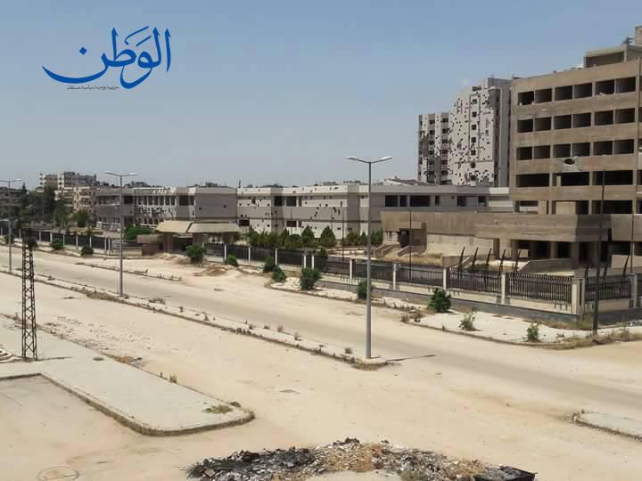 صورة الحياة تعود إلى حي الوعر وعودة أكثر من 8 آلاف من سكانه