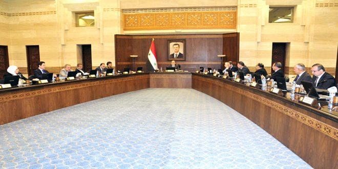 Photo of مجلس الوزراء يناقش مشروع مرسوم لإحداث معهد عالي للغات في جامعة حماة