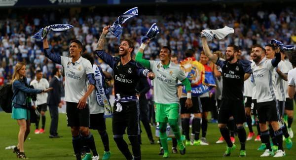 Photo of ريال مدريد بطلا للدوري الإسباني ورونالدو يحطم رقما قياسيا جديدا للنادي