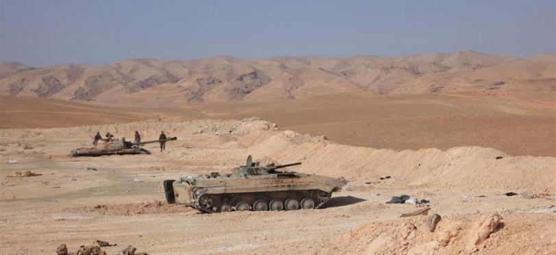 Photo of الجيش السوري يسيطر على حقل آرك والمحطة الثالثة والتلال المحيطة بريف حمص الشرقي