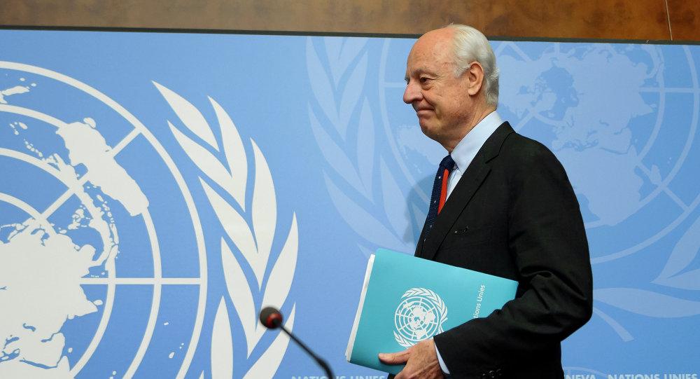 Photo of دي ميستورا يحضر لجولة مفاوضات تركز على المسائل الدستورية والقانونية