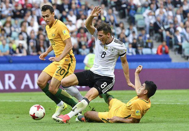 صورة المنتخب الألماني يظفر بالنقاط الثلاث في مباراة مثيرة مع استراليا