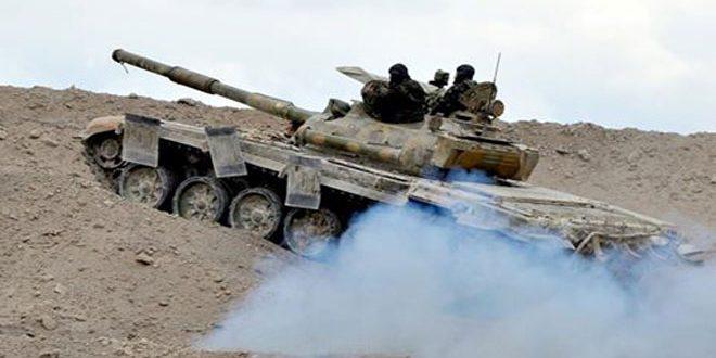 Photo of تجدد للمعارك على اتجاه صوامع تدمر والتليلة بريف حمص الشرقي